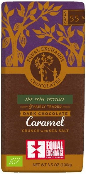 Equal Exchange_ caramel sea salt dark chocolate