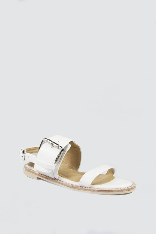 Dew instep sandals - White
