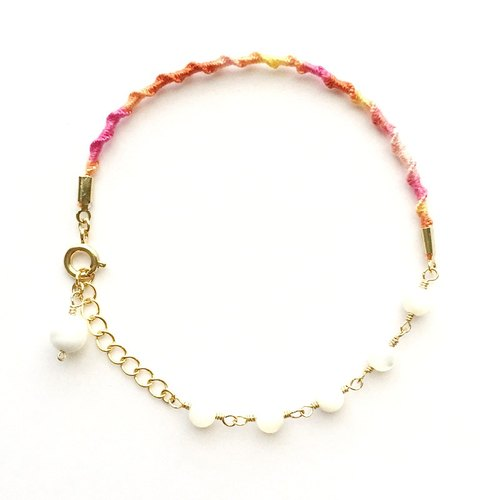 Gradient color bracelet D