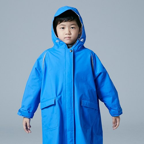 Dimensional children raincoat