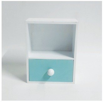 Wood drawer boxes single cell (Green Lake)
