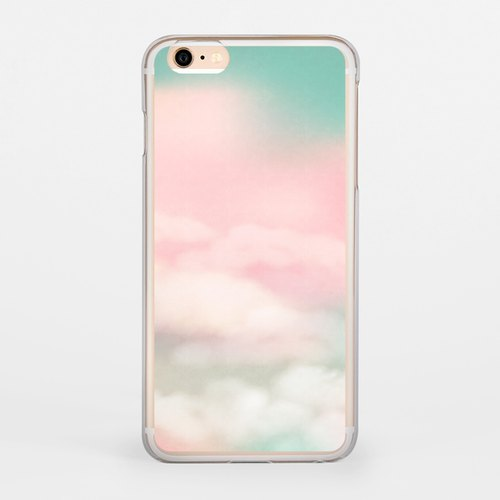 Cloud iPhone 6 / 6S transparent colored shell