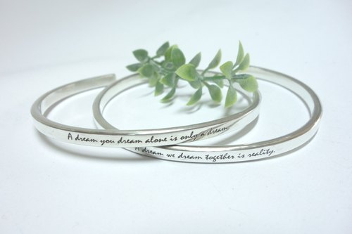 "- Proverb bracelet (C ring) - sterling silver bracelet (currently moved to the new museum for sale, please search the design hall ""MrBeerSilver"")"