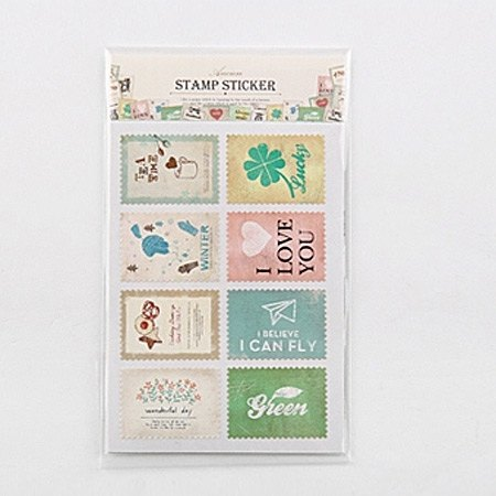 Ancien retro stamp _04 Happiness, E2D50779