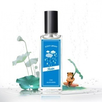 [Rain] ScentLibrary natural raindrop series Eau de Toilette 15ml