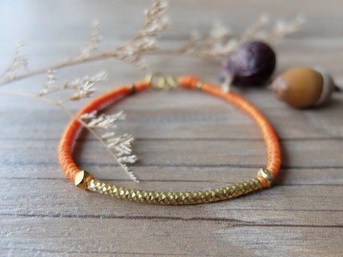 GLORIA wax wire bracelet [B101-27]