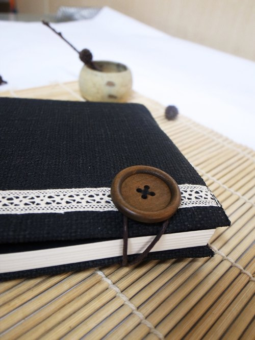Hand clothes for the book [notebook] thick black canvas paragraph Tokyo Story (Big)