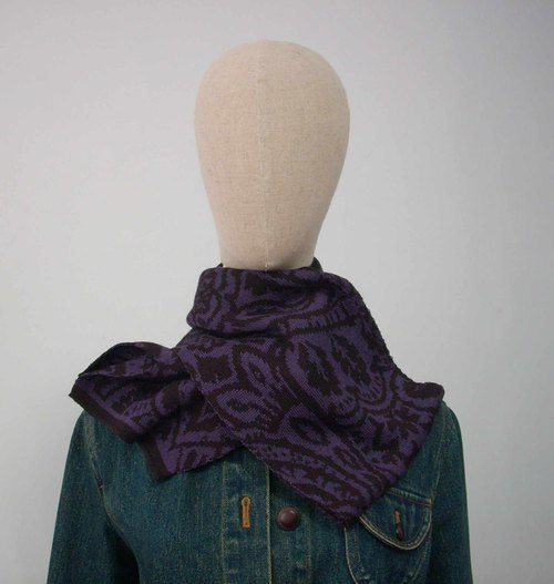 Bonnefoy Creations French small workshops produced - # 4 wool scarves / 3 colors
