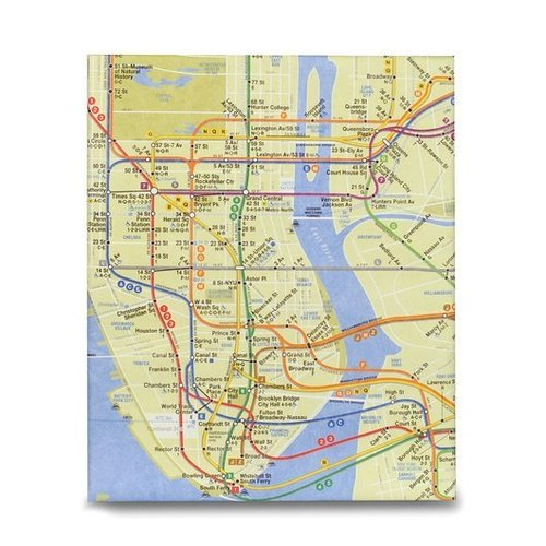 Mighty™ Case TABLET iPad保護套 _ NYC Subway Map