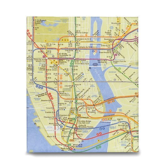 Nyc Subway Map Paper.Mighty Case Tablet Ipad Case Nyc Subway Map
