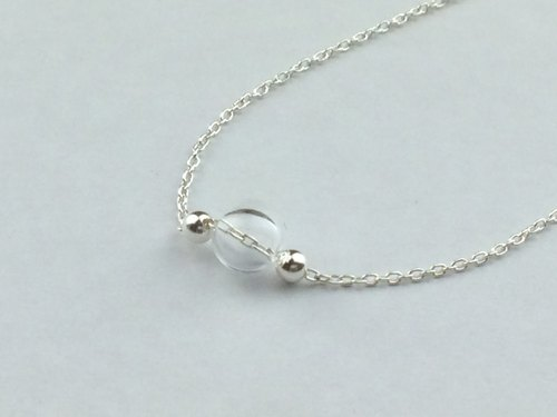 [Shimo] Silver Bubble simple and elegant hand and chain
