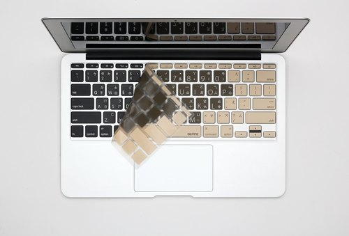BEFINE Apple MacBook Air 13 & Pro Retina keyboard protective film mocha Chinese Qiao Qi (8809402590483)