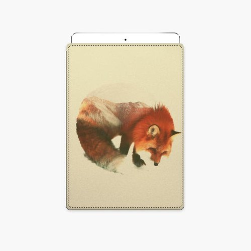 Snupped Tablet Case - Snow Fox