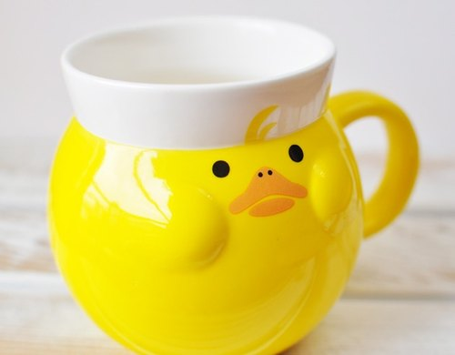 [Japan's] mouth toot Decole yellow duckling styling mug (final Group B)