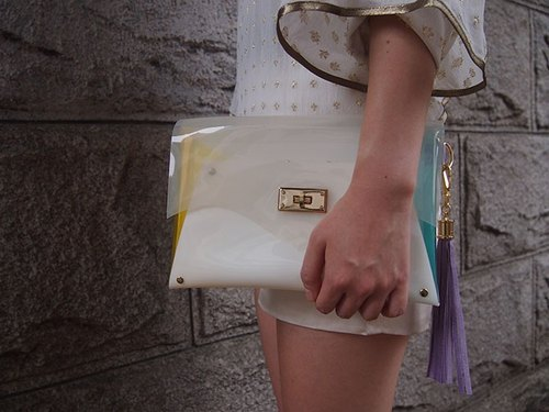 LOCK CLUTCH WHITE Y × A