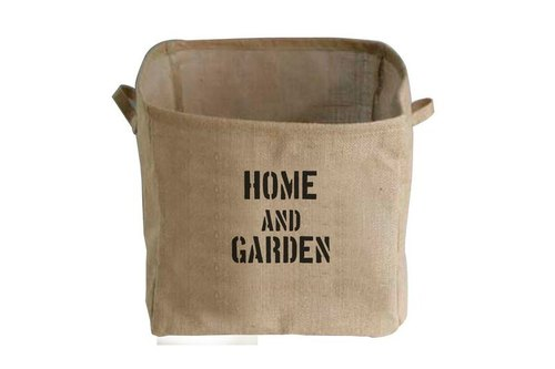 "Fill in the Blank ""natural hemp fabric furniture series - Village Square mention skill linen storage basket L - HOME AND GARDEN (house and garden)"