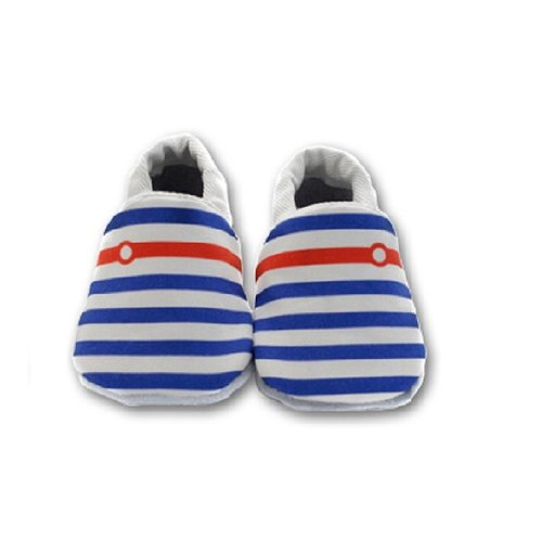 [Europe] made little sailor First baby shoes handmade soft bottom toddler shoes / indoor shoes