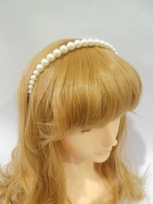 Pearl princess hair bands Lisa-Snail Design