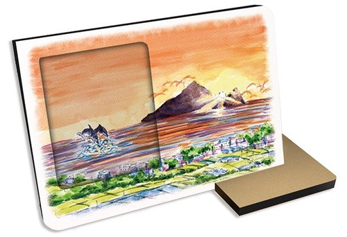 Taiwan's top ten tourist attractions ~ Ilan Turtle Island ~ 30 seconds Sound and light recording card postcard Photo Frame Gifts Souvenirs Tourist attractions Whale watching