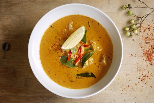 Thai red curry with coconut milk stew espresso tender package spicy chicken dishes ★★ (1 bag 2 pack into 280 g / bag, about 1 to 2 parts per package)