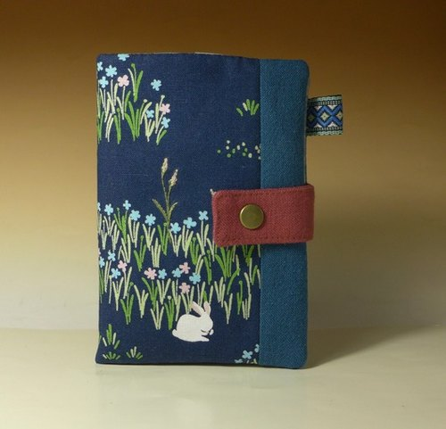 Multifunctional Passport Holder / long cloth folder*grass rabbit*
