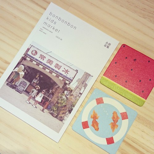 Child market alone determined # 06 - Discover our favorite summer group (only aspire + watermelon goldfish coaster)