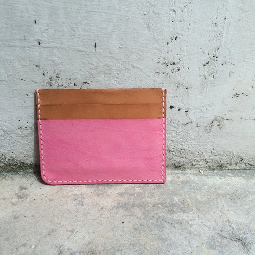 cottontail // handmade leather 5-slot cardholder