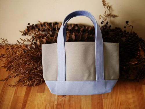 [Christmas gift] Classic Tote exchange Ssize gray x lavender - gray x Lavender -