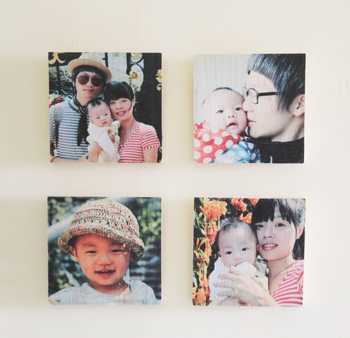 Xiang - happy family special pine paintings (family of four groups)