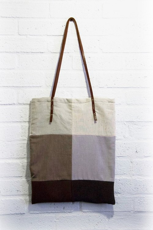 Patchwork fabric bag
