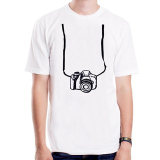 Printed Camera T-shirt -2 color camera photographs Wen Qing art design trendy fashion LOMO