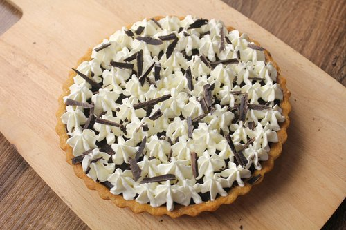 [Research Center] Apie bittersweet baking chocolate cream pie / 8-inch