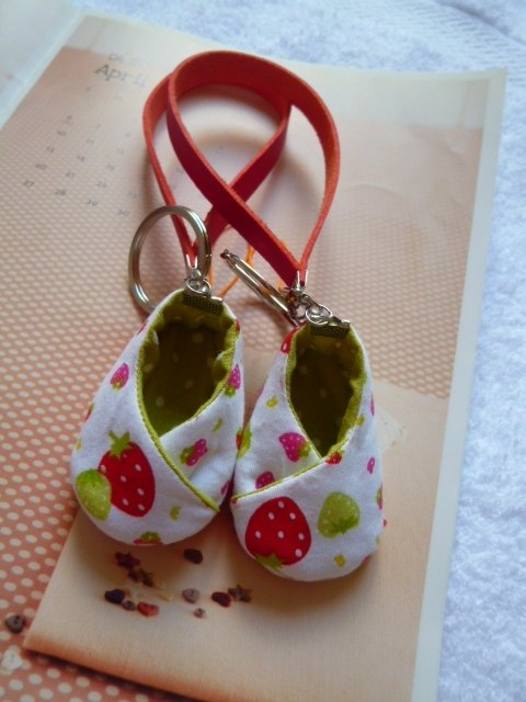 Strawberry good luck charms pregnant shoe shoes