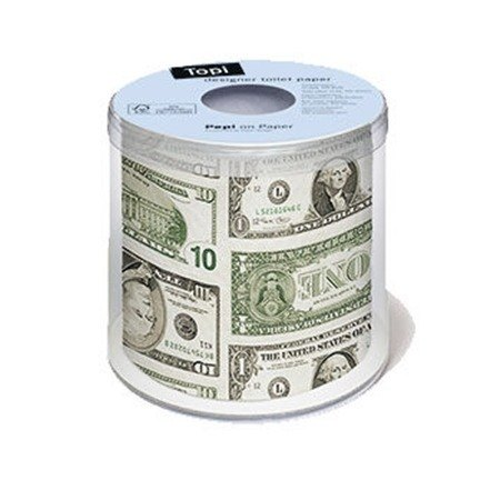 """Paper + Design"" toilet paper roll -Dollar"