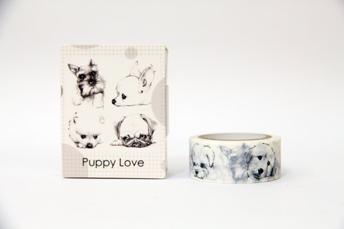 【TooL】 ure life / paper tape / Puppy Love-1 / James Huang / GTIN: 4713077970928