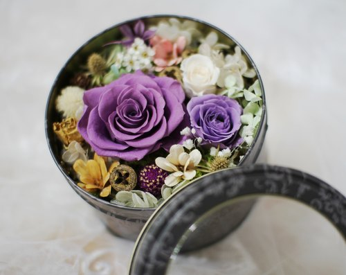 [Happy Garden] - immortalized flower / dried flowers / jewelry bouquet / wedding bouquet bouquet / flower ceremony