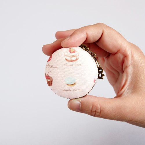 5cm Macaron pattern coin bag or jewelry Box, ready to ship