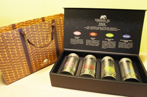 [] Williamson Tea gift boxes Williamson Tea --MINI CRU Collection Gift (includes four flavors perspective teabags / 15 into each) [preferred] Mid-Autumn Festival