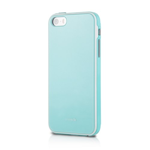 chevalier 360 ° full wrap-around phone protection shell pearl Transp- iPhone 5 / 5s blue