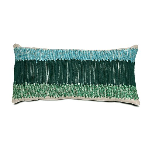 Beaded pillow (gradient green) | BoConcept