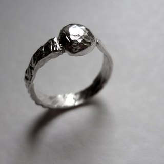 Strokes: Melting-Freezing // 925 Sterling Silver Ring