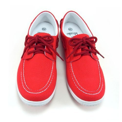 Mirako Sport bike shoes, casual sailing shoes] [non-card 99101 MADE IN TAIWAN, red