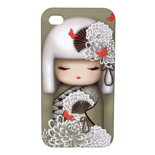 Kimmidoll and blessing doll IPHONE 4 / 4s Case Yoriko