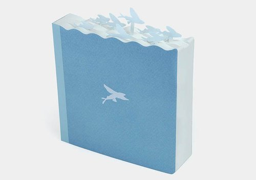 Flying fish Notebook (Thick type)