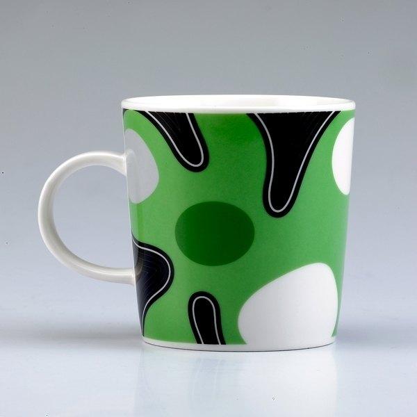 ★水玉點點控★TAISO 普普風馬克杯系列-亮眼綠