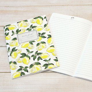 [Japanese] Fruite LABCLIP series A5 note notebook / lemon
