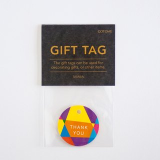 GOTOME | Gifts elevator 20 into the wind hit the color | packaging tag | custom printing