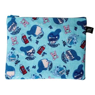 Zipper Pouch (Big) - Flying Sofye