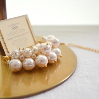 Pearl bubble necklace