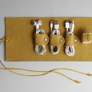 Wire storage package yellow
